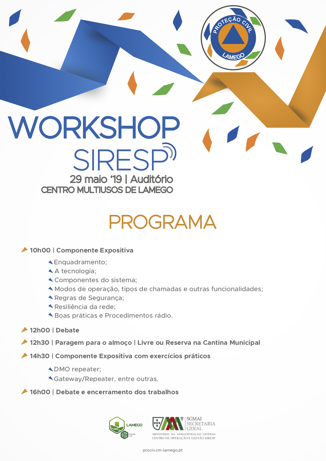 SIRESP WORKSHOP2019